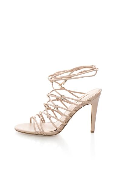 Guess Sandale bej infasurabile Femei