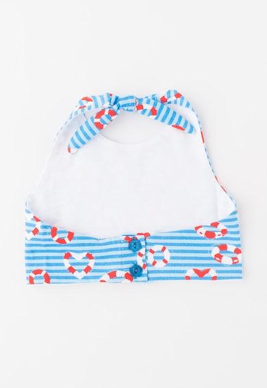 Agatha Ruiz de la Prada Детски къс топ в синьо с морски мотиви Момичета