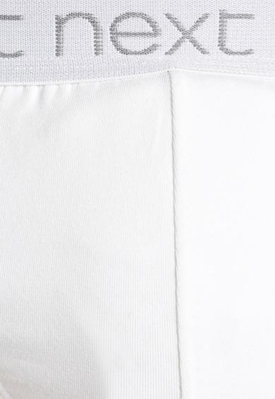 NEXT Set de chiloti albi - 4 perechi Barbati