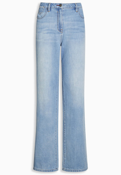 NEXT Jeansi bleu cu croiala ampla Femei