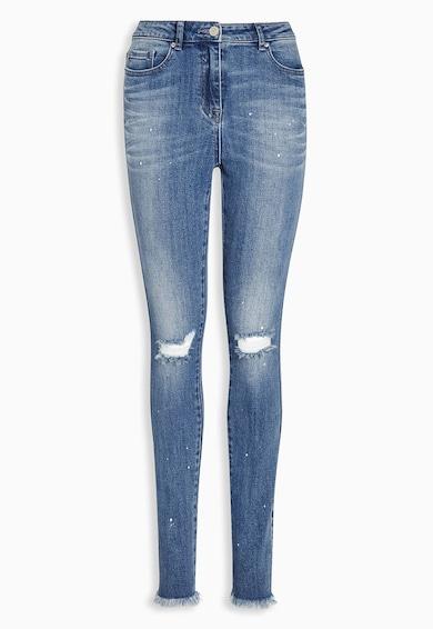 NEXT Jeansi skinny albastri cu aspect deteriorat 52 Femei