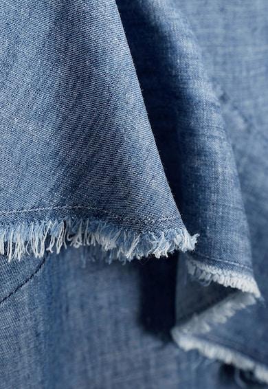 NEXT Tricou albastru din material chambray Femei