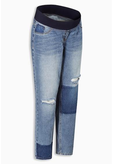 NEXT Jeansi albastru pentru gravide cu segmente contrastante Femei
