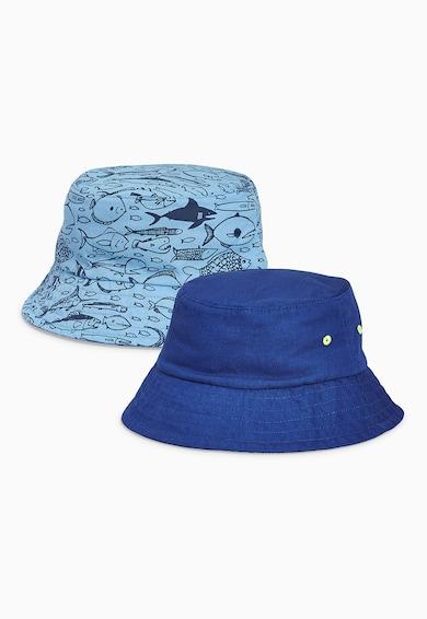 NEXT Set de palarii fisherman in nuante de albastru - 2 piese Baieti