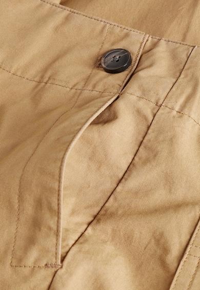 NEXT Pantaloni maro din bumbac cu croiala ampla Femei