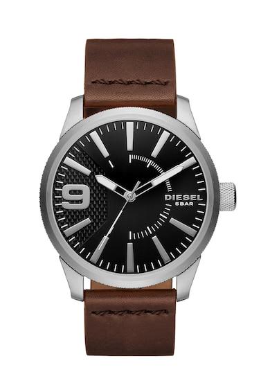 Diesel Часовник RASP в кафяво и сребристо 0 Мъже