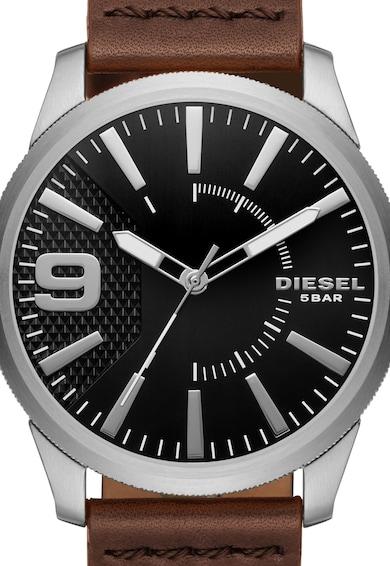 Diesel Ceas maro cu argintiu RASP 0 Barbati