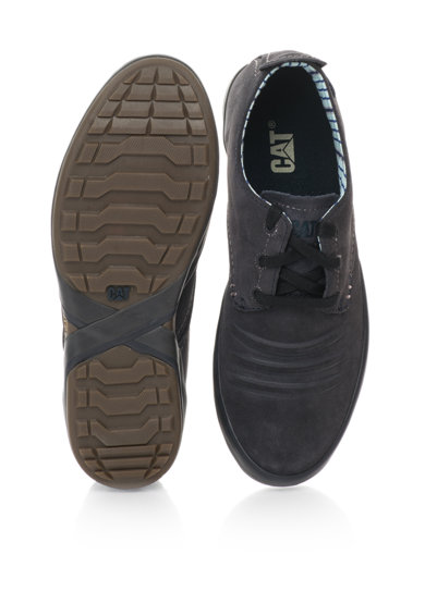 CAT Pantofi bleumarin de piele intoarsa Status Barbati