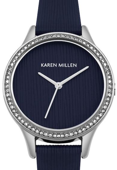 Karen Millen Ceas analog decorat cu zirconia Femei