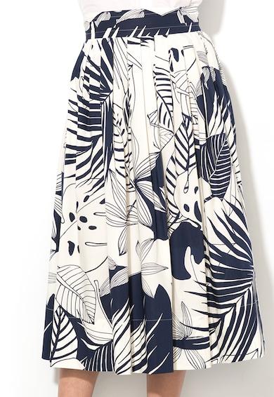 Marella Среднодълга пола с шарка на листа Жени