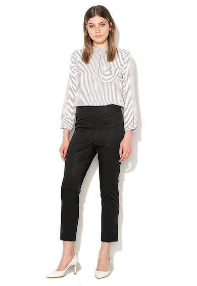 Marella Pantaloni crop negri Duse Femei