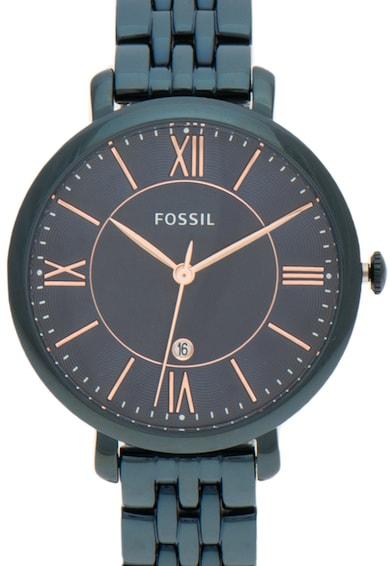 Fossil Тъмносин часовник Jacqueline Жени