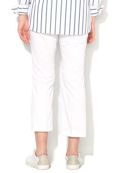 Pennyblack Pantaloni crop albi Lantanio Femei