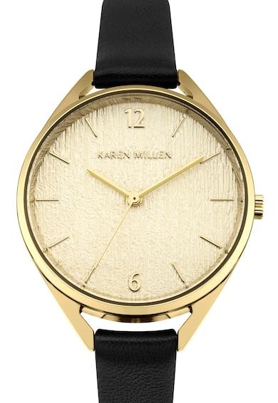 Karen Millen Часовник с релефен циферблат Жени