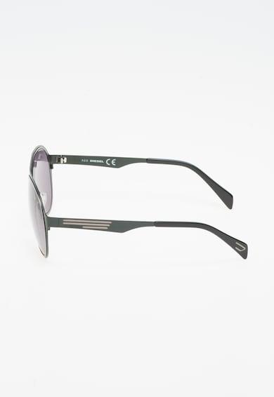 Diesel Унисекс слънчеви очила в тъмнозелено и тъмносиво Жени