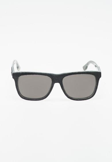 Diesel Унисекс слънчеви очила в черно и сиво Жени