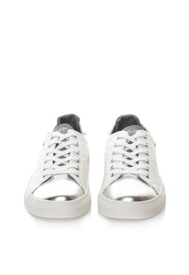 Replay Tenisi alb cu argintiu si stele Market Femei