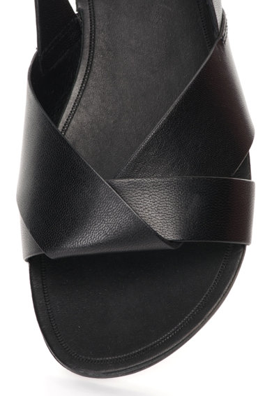 Vagabond Shoemakers Черни кожени сандали с отворена пета Жени