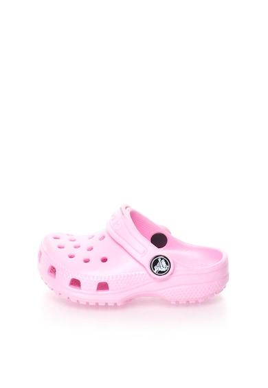 Crocs Детско яркорозово сабо Момичета