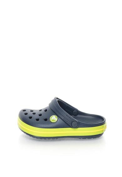 Crocs Saboti slingback usori bleumarin cu verde Crocband™ Fete