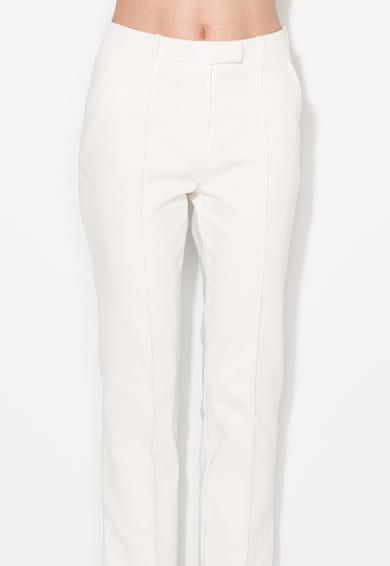 Zee Lane Collection Бял панталон над глезена Жени