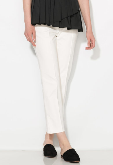 Zee Lane Collection Pantaloni crop albi Femei
