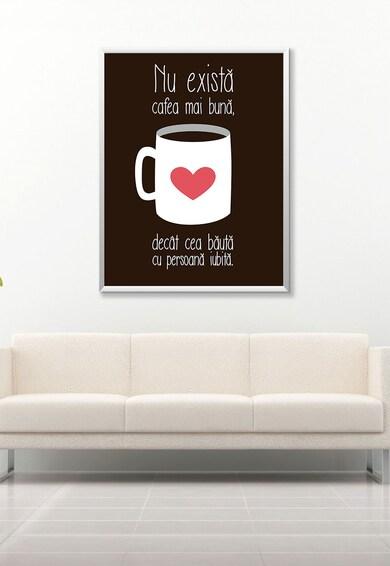 4Decor Текстилно пано Coffee Mug Message Мъже