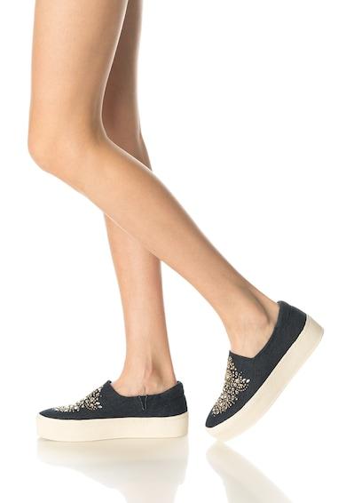 Colors of California Pantofi slip-on cu strasuri Femei