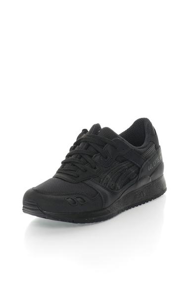 Asics Unisex Gel Lyte III sneaker bőrrészletekkel női