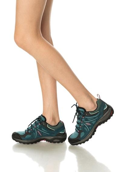 Salomon Pantofi pentru drumetii in nuante de verde Ellipse 2 Aero Femei