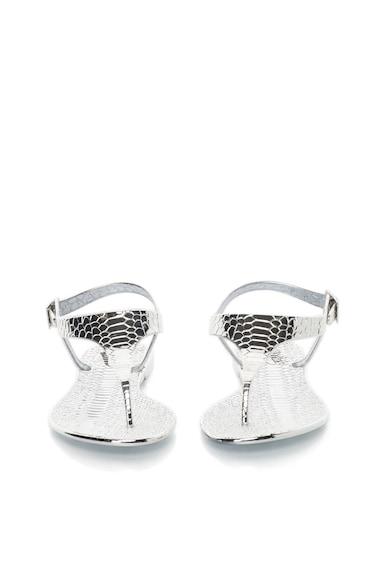 Buffalo Sandale cu bareta separatoare si aspect metalizat Femei
