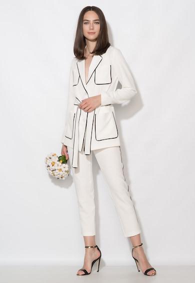 Zee Lane Collection Бяло сако с черни елементи Жени