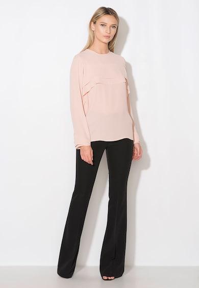 Zee Lane Collection Бледорозова блуза с набирания Жени