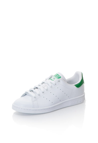 Stan Smith Fehér Cipő Zöld Részletekkel - Adidas ORIGINALS (M20324) 228bba83ee