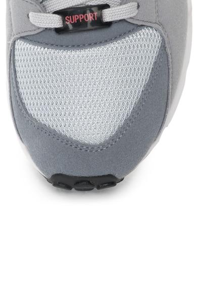 Adidas ORIGINALS Спортни обувки EQT в сиво и черно Мъже
