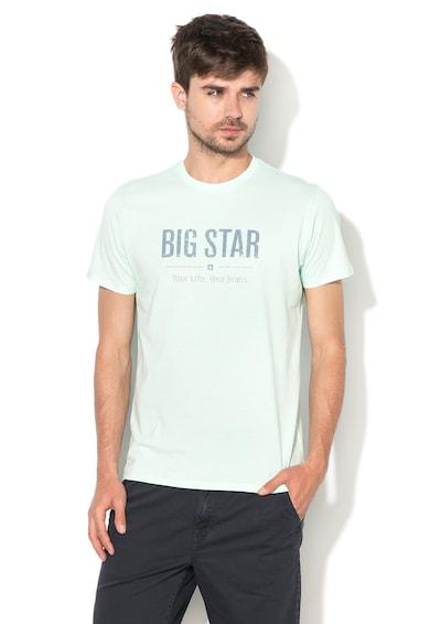 Big Star Bruno Mentazöld Póló Logóval férfi