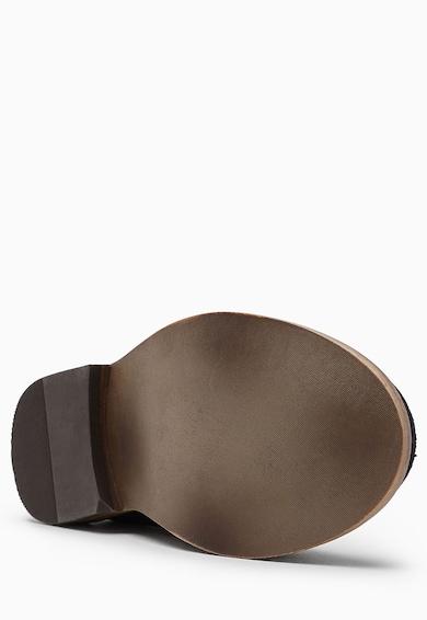 NEXT Pantofi loafer bleumarin inchis de piele intoarsa Baieti