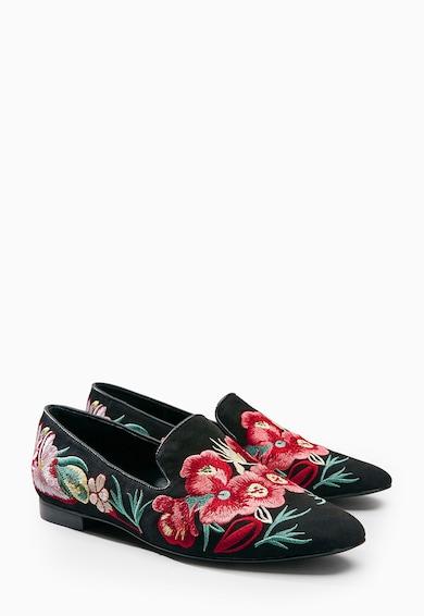 NEXT Pantofi negri cu broderii Femei