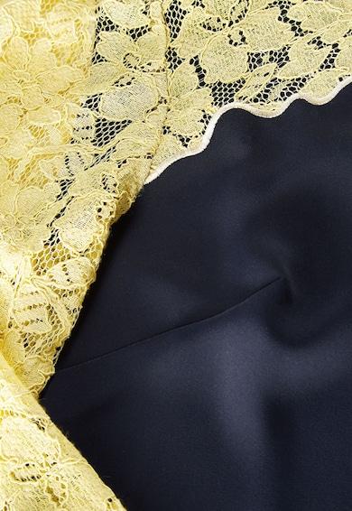 NEXT Rochie bleumarin cu galben cu dantela Femei