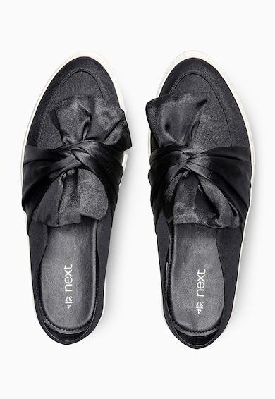NEXT Fekete Masnis Cipő női