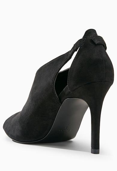 NEXT Fekete Cipő Kivágásokkal női