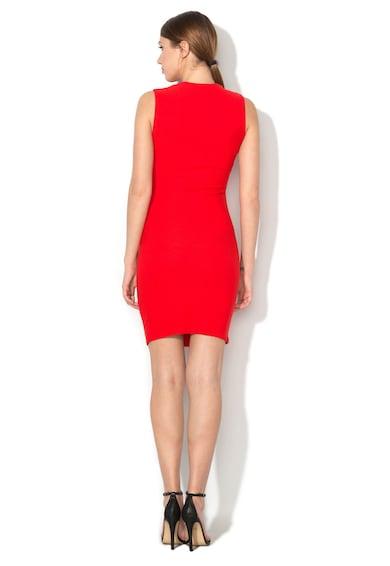 DESIGUAL Червена рокля със застъпено деколте Жени