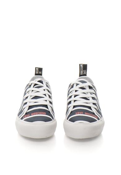 Love Moschino Тъмносини спортни обувки на платформа Жени