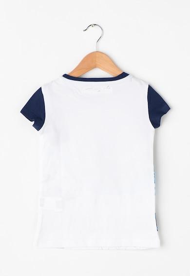 DESIGUAL Lány Phoenix Fehér & Kék Póló Lány