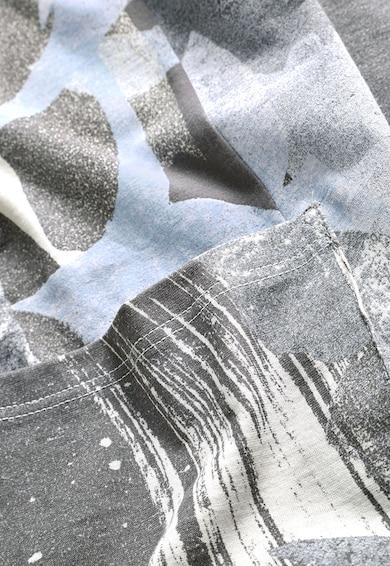 NEXT Bluza in nuante de gri cu imprimeu abstract Femei