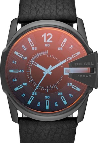 Diesel Ceas cronograf negru cu geam cu irizatii Barbati
