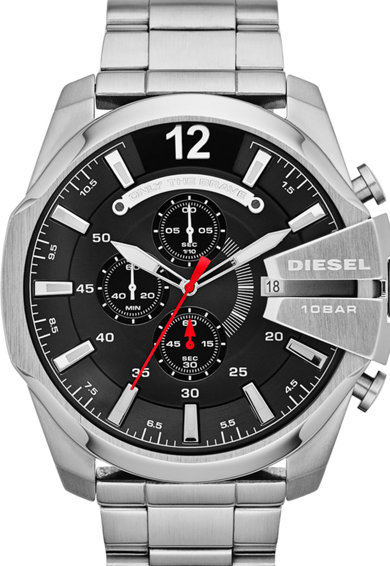 Diesel Ceas cronograf argintiu Barbati