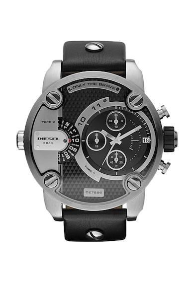 Diesel Черен часовник с хронограф Мъже