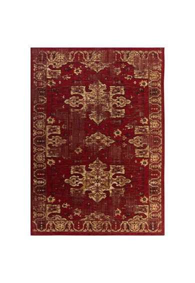 3K Covor  Carpet Back to Home Avangard 36054A Red/Gold, 1.50x2.30m Femei