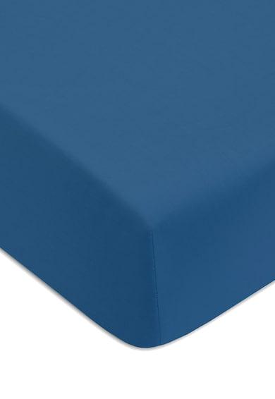Jalla Cearsaf albastru paun cu elastic Absolu Femei